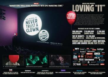 """Burger King: Loving """"It"""" [image] Film by Grabarz & Partner Hamburg, Rabbicorn"""