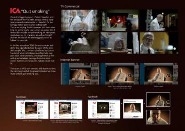 ICA: QUIT SMOKING Promo / PR Ad by King