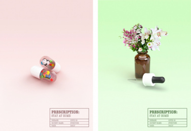 World Health Organization/ WHO: Follow Your Prescription, 3 Design & Branding by 180 Kingsday