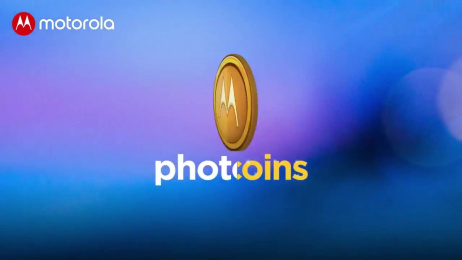 Motorola: Photocoins Digital Advert by Global Interactive