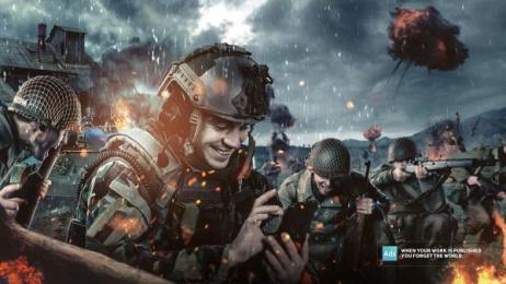Ads Of The World: War Print Ad by Nabaroski Cairo