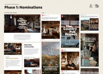 Airbnb: The Country Pub Project - Phase 1: Nominations Print Ad by Airbnb / San Francisco