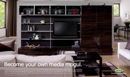 IKEA: Mogul Print Ad by Zig Toronto