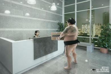 Zoom: Sumo Print Ad by Zea BBDO Venezuela