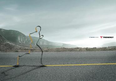 Trienergy: Runner Print Ad by Genoma Bucaramanga