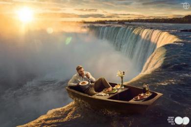 Alka-Seltzer: Waterfall Print Ad by BBDO Mexico