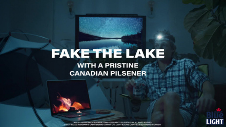 Labatt Blue: Fake It Til You Lake It, 1 Film by Burns Group, New York, USA