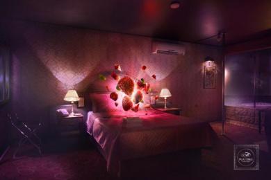 Condomes Vive: Motel Print Ad by d4 McCANN