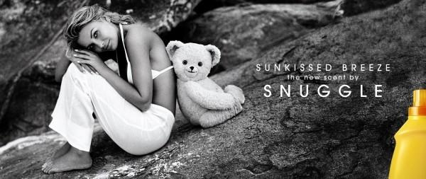 Snuggle Sunkissed Breeze Fabric Softener: BACK TO BACK Print Ad by Campbell Ewald
