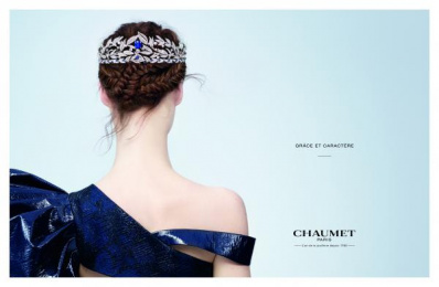 Chaumet: Diademe Print Ad by BETC Luxe
