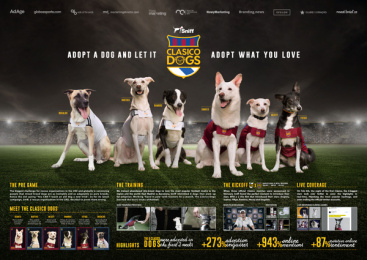 Sniff: Clàsico Dogs Print Ad by Hearts & Science, TBWA\RAAD Dubai