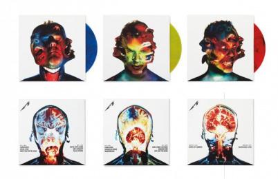 Metallica: METALLICA HARDWIRED TO SELF-DESTRUCT ALBUM DESIGN, 3 Design & Branding by Turner Duckworth: London & San Francisco
