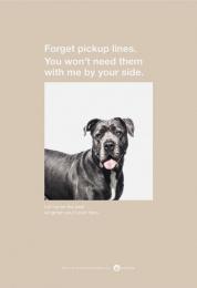 Amanda Foundation: Mastiff Print Ad by Saatchi & Saatchi USA