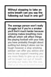 The Breath Test, 2 Print Ad by AMV BBDO London, Grand Visual