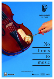 Philharmonie De Paris: Violon Print Ad by BETC
