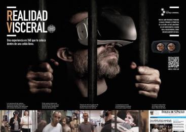 Rede de Justiça Criminal: Realidad visceral [spanish image] Digital Advert by J. Walter Thompson Sao Paulo, Vetor Zero/Lobo