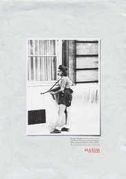 Maxim: SOLDIER Print Ad by Ogilvy & Mather Mexico