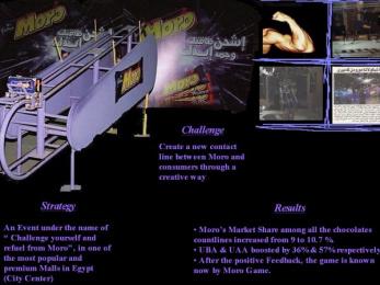 Moro: SHOW SOME ARM POWER Print Ad by Zenithmedia