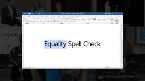 Lenovo: Equality Spell Check - Case Film Case study by CANJA Audio Culture, Wunderman Thompson Dubai