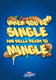 Kraft: Mingle Print Ad by Miami Ad School New York