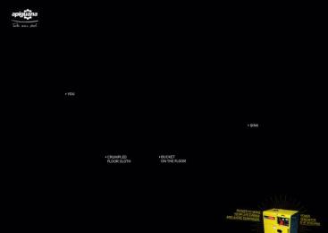 Apiguana: Blackout, 3 Print Ad by G Marketing Comunicação