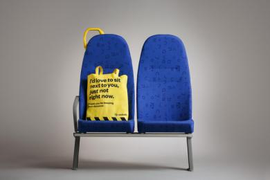 Västtrafik: No Douche Bag, 5 Print Ad by Forsman & Bodenfors, Sweden