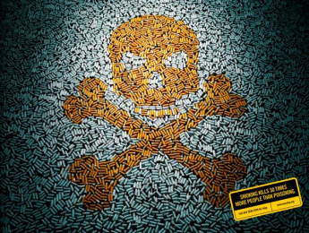 Quit: Poison Print Ad by 1pointsize