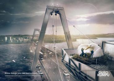 Outokumpu Stainless Steel: SEABIRD Print Ad by Euro Rscg Helsinki