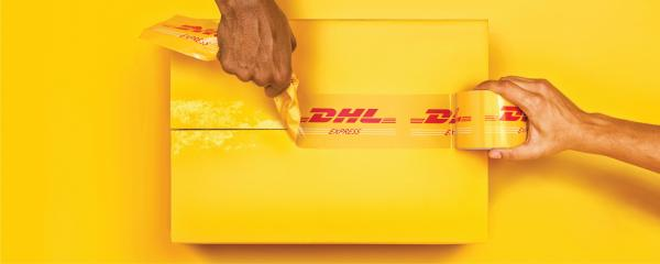 DHL: Ripped Print Ad by Grey Bangalore