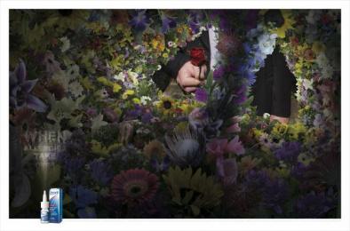 Otrivin: Pollen Print Ad by Saatchi & Saatchi BrandsRock Johannesburg