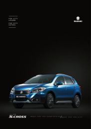 Suzuki S-Cross: City Print Ad by Circus Grey Lima