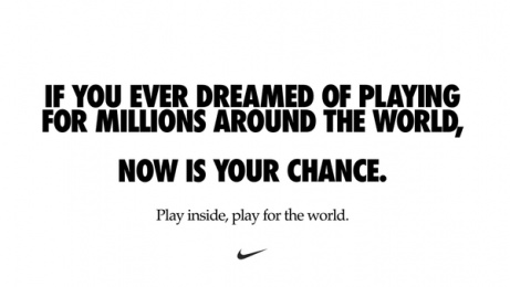 Nike: COVID-19 - Now is your chance Print Ad by Wieden + Kennedy