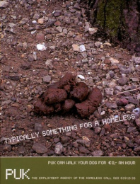 Employment Agency For The Homeless: TURD Print Ad by D'arcy