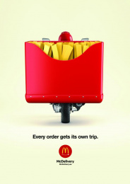 McDonald's: Fries Print Ad by Fortune Promoseven Dubai