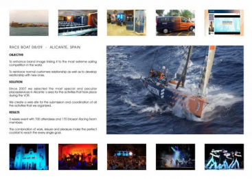 Corporate Sport Event: VOLVO OCEAN RACE Print Ad by Staff De Comunicacao