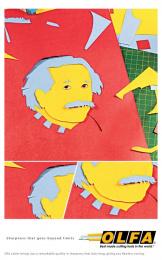 Olfa: Sharpness, 2 Print Ad by B.S. Bandekar College Of Fine Art