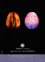 Independent Record Company: THE BRAIN Print Ad by X-generation