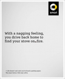 Smart Fortwo: Stove [image] Print Ad by BBDO Berlin
