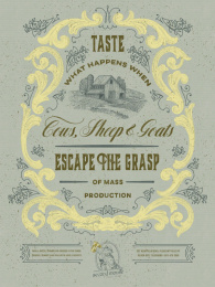 Second Mouse Cheese Shop: Second Mouse Cheese Shop, 4 Print Ad