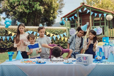 Baskin Robbins: Blue Print Ad by Ogilvy & Mather Bogota