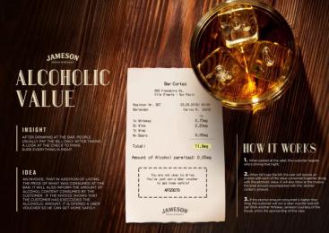 Jameson: Alcoholic Value [image] Case study by Miami Ad School Sao Paulo