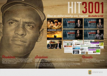 DEPARTMENT OF ECONOMIC DEVELOPMENT AND COMMERCE OF PUERTO RICO: HIT 3001 Case study by J. Walter Thompson San Juan