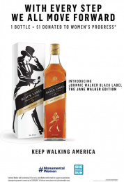 Johnnie Walker Black Label Whisky: The Jane Walker Edition Print Ad by Anomaly New York