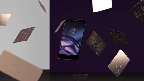 Moto-z Mobile Phone: Ultrathin design. Unlimited possibilities Film by LOS YORK