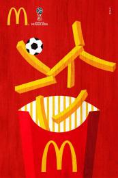 McDonald's: World Cup, 4 Print Ad by DPZ Sao Paulo