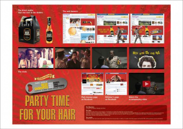 Park Avenue: BEER SHAMPOO Direct marketing by Publicis Ambience Mumbai