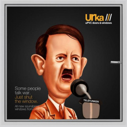 Urka: Adolf Hitler Print Ad by Janrise India