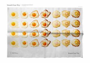 Smith Restaurant + Bar: Eggs Your Way Print Ad by Leo Burnett Toronto