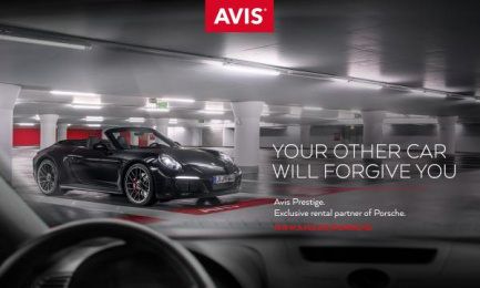 Avis: The Affair, 1 Print Ad by Collective, London