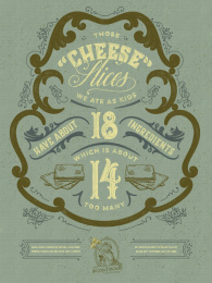 Second Mouse Cheese Shop: Second Mouse Cheese Shop, 5 Print Ad